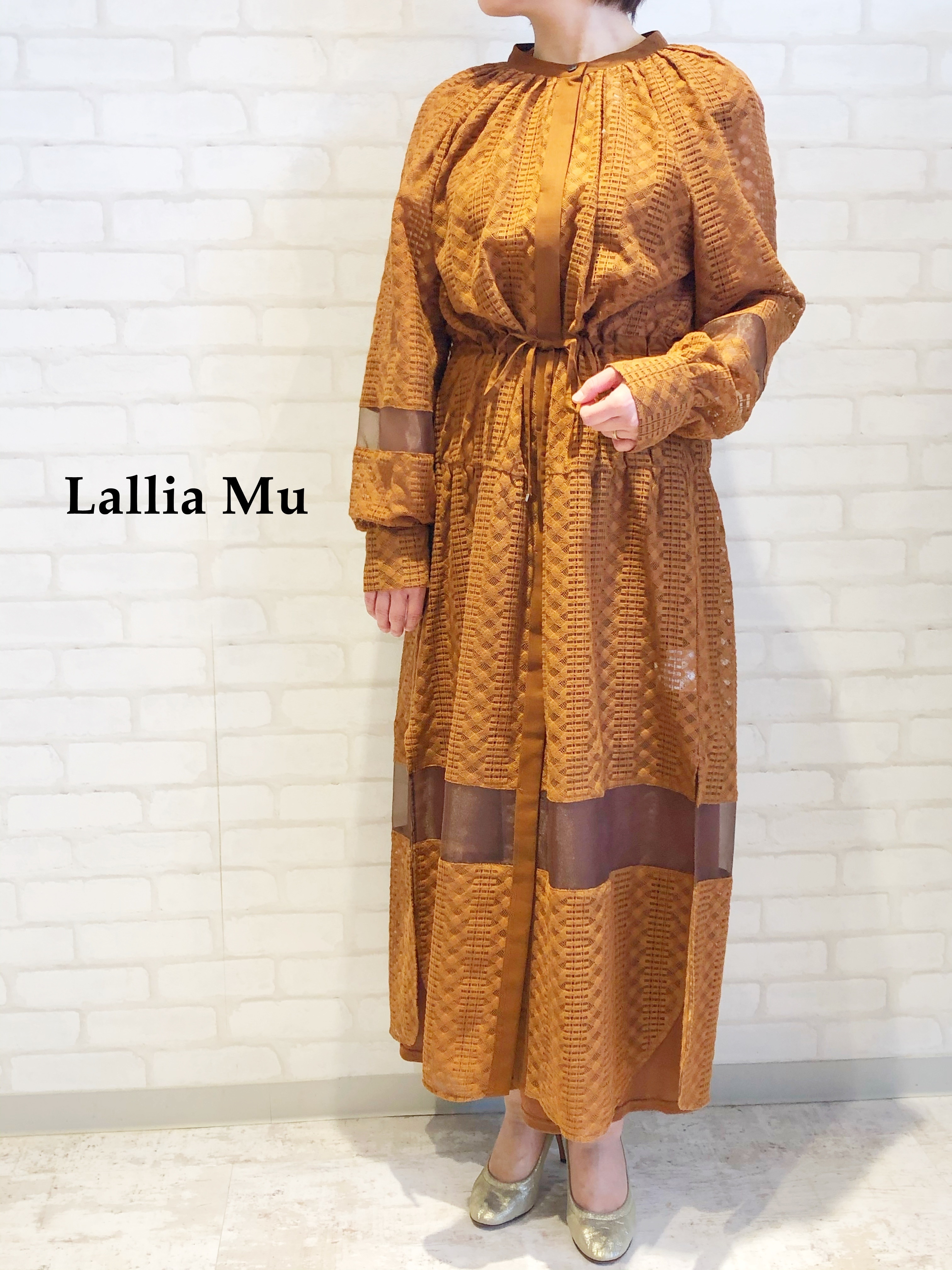 Lallia Mu/ラッセルレースワンピース/2111377