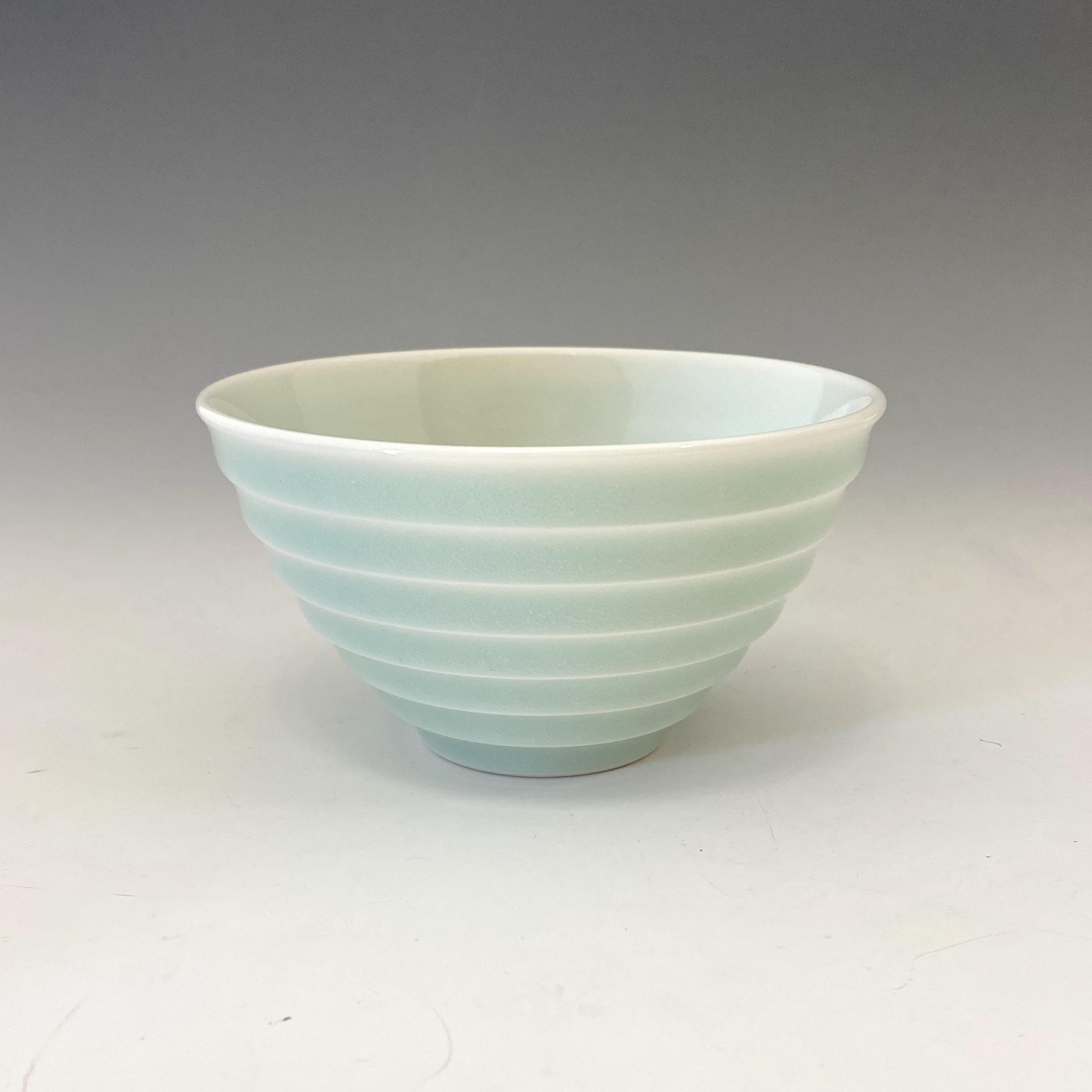 【中尾純】青白磁線段碗(小)