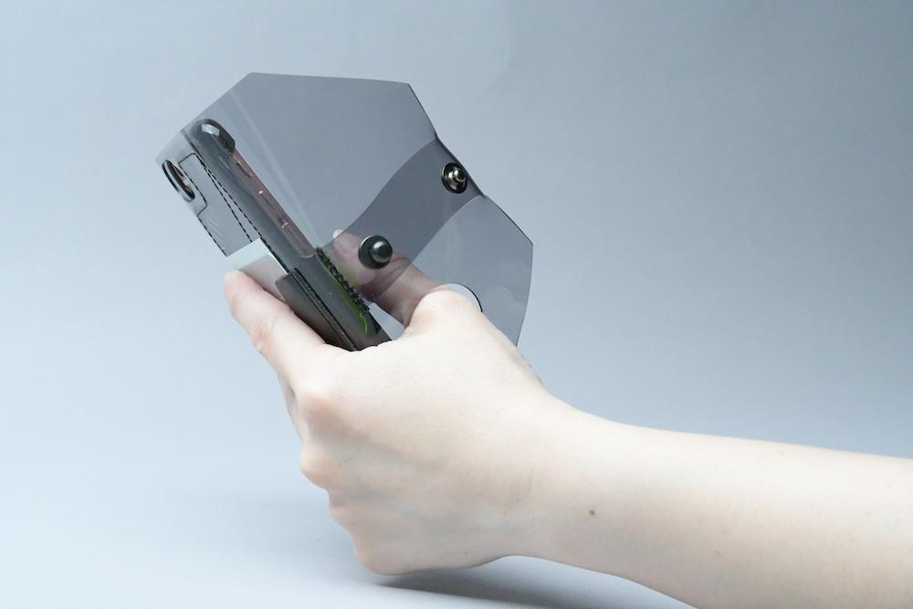 送料無料・ SE2/8/7/6S/6 iphone case □スモークグレー□ - 画像5