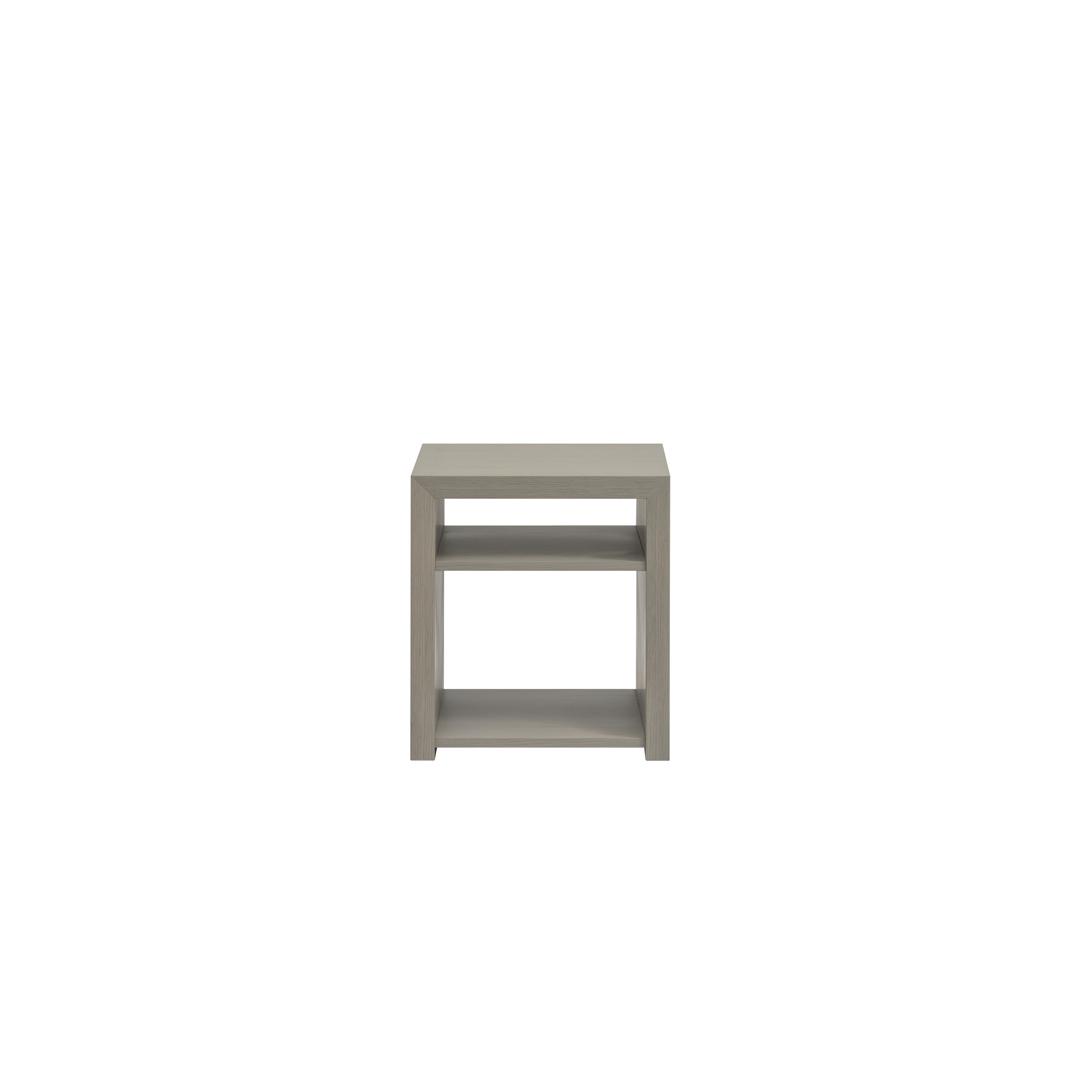 リニエ サイドテーブル 400 オーク(カラーウレタン塗装)[リアルスタイル]