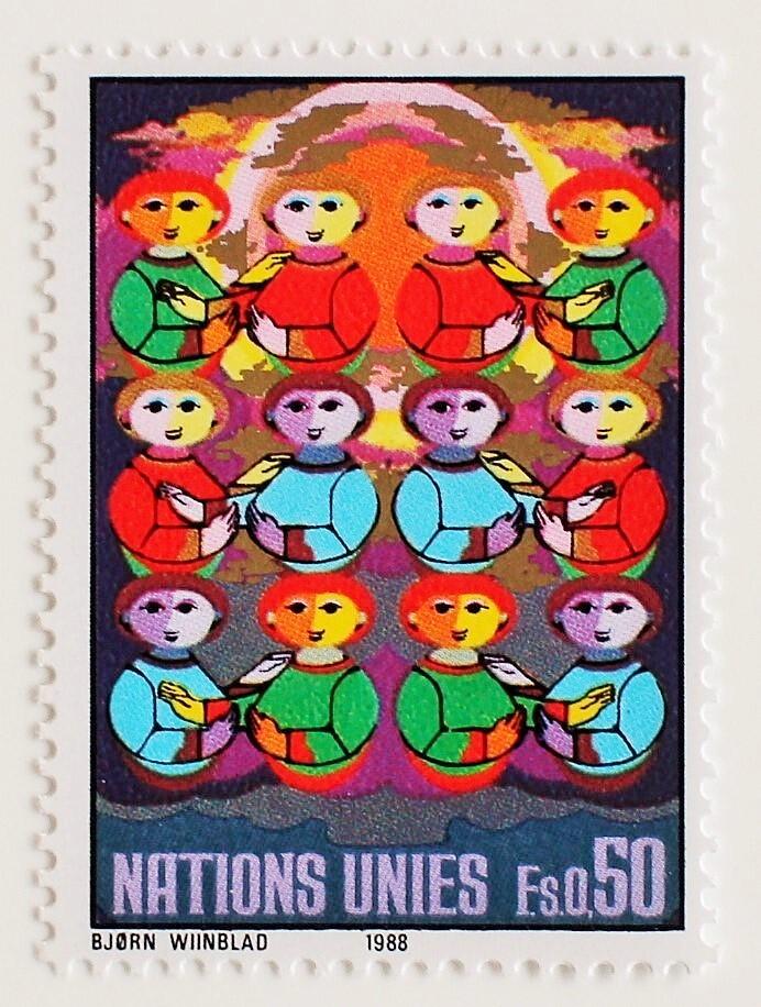 ビヨン・ヴィンブラッド / 国連 1988