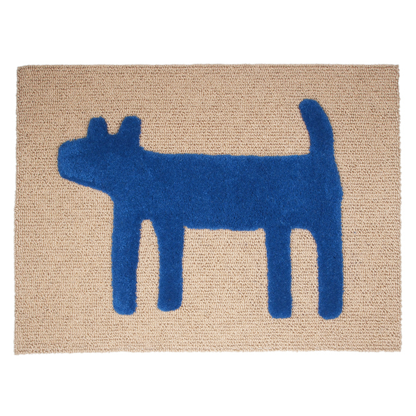 House Doggy Mat(M) ブルー