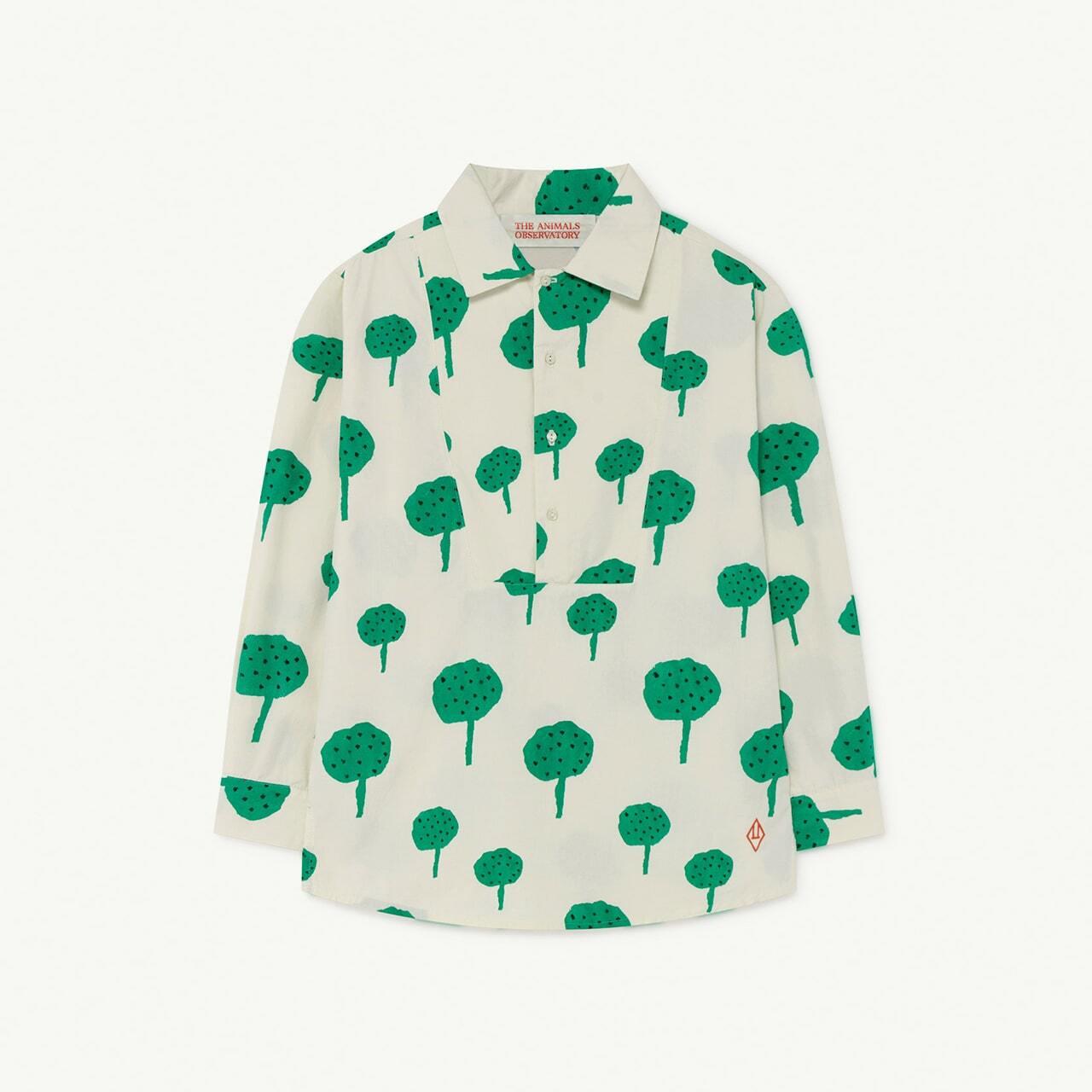 «sale»«即納» THE ANIMALS OBSERVATORY / TAO / White Trees Mandrill Shirt