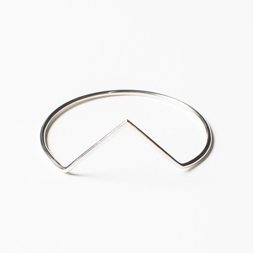 【ONLINE STORE限定SALE!】 ANOTHER FEATHER / DART BANGLE SILVER