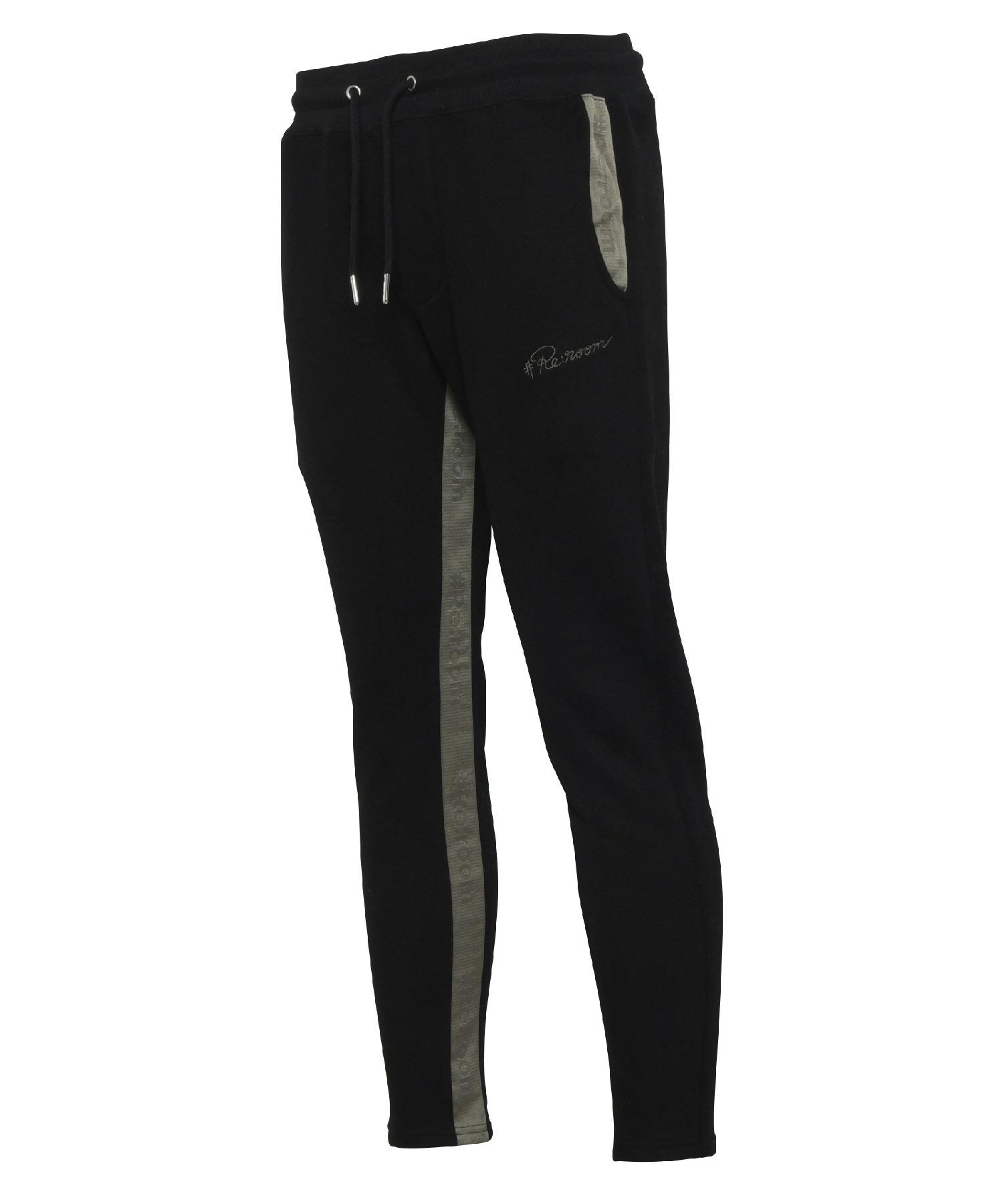 LINE LOGO TAPE SLIM SWEAT PANTS[REP113]