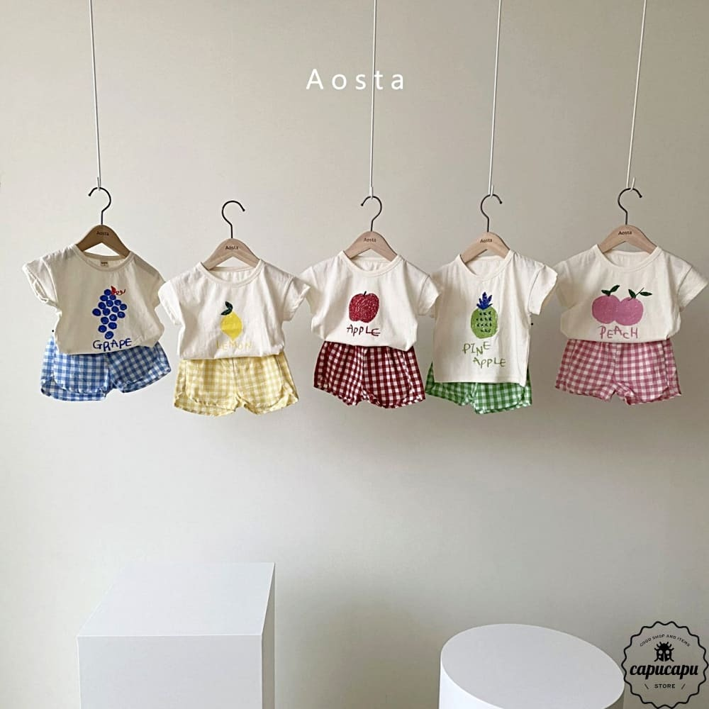 «sold out» Aosta fruits set 5colors フルーツセットアップ