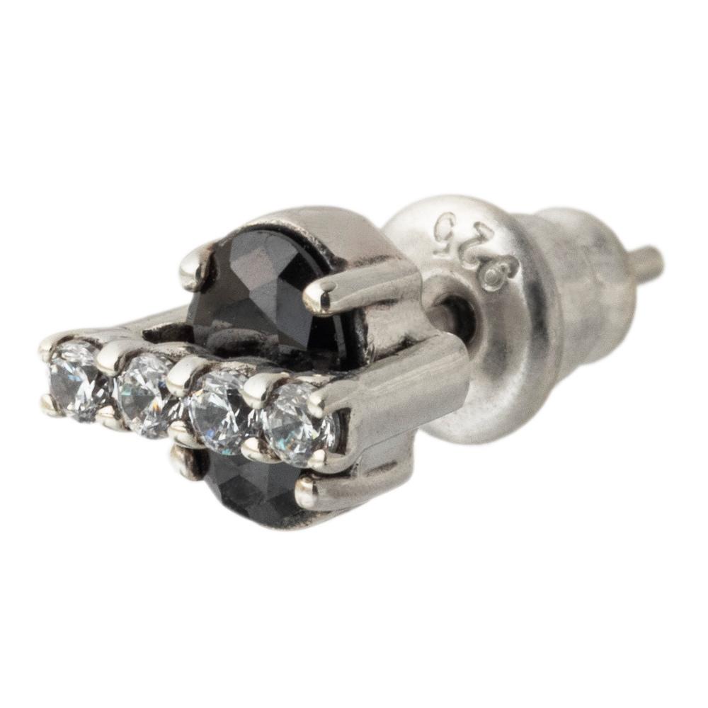 ブリッジスタッドピアスBK AKE0100 Bridge stud earrings