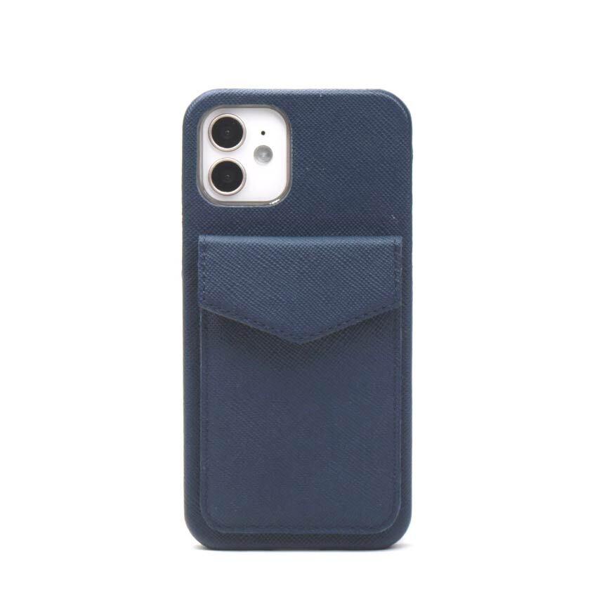 縦型カード【ネイビー】 iPhone / Galaxy / Xperia /  Googlepixel / Huawei