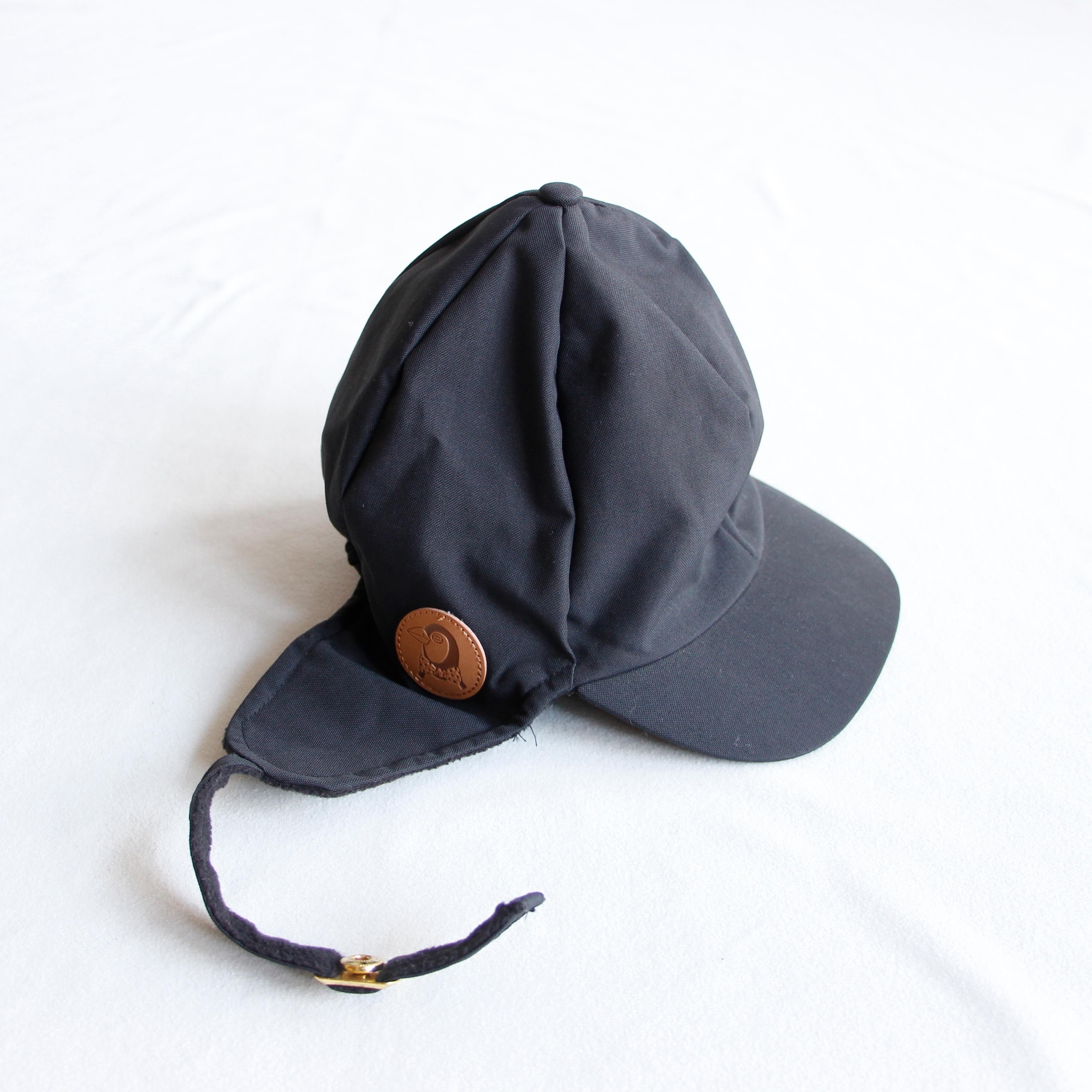 《mini rodini 2015AW》ALASKA AOP CAP / black / 48-50cm