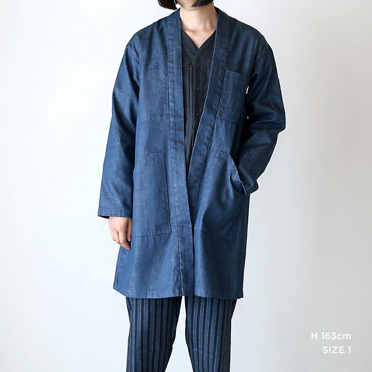 JK-13  伊達羽織  インディゴデニム