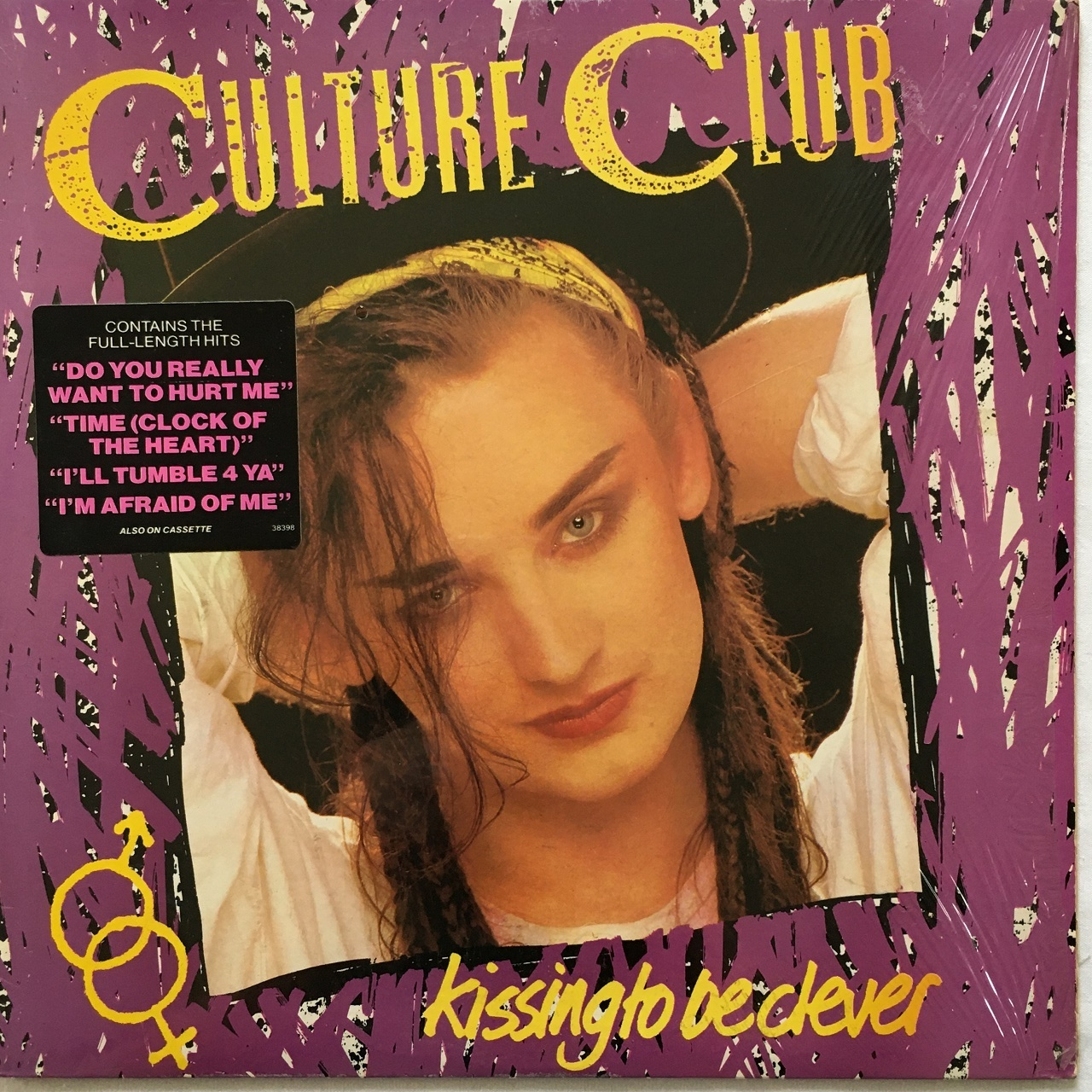 【LP・米盤】Culture Club  /   Kissing To Be Clever