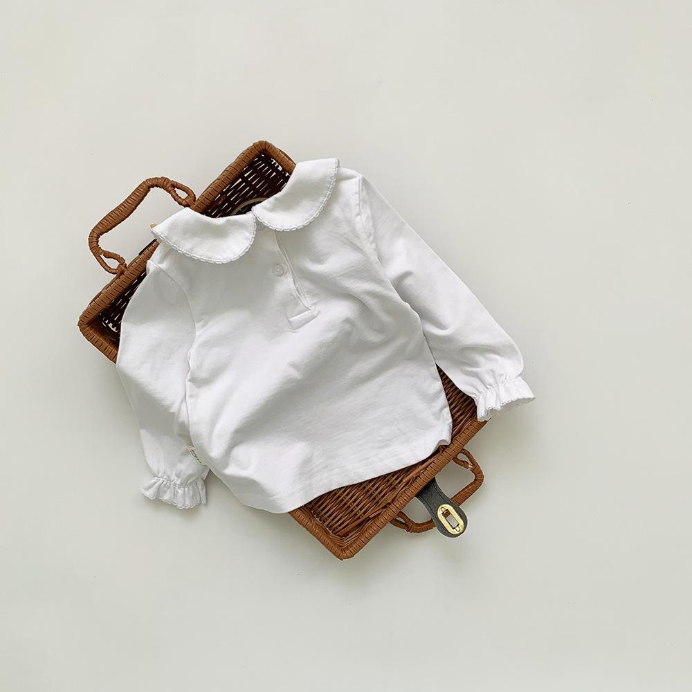 【先行予約・一部即納】襟付きホワイトブラウス