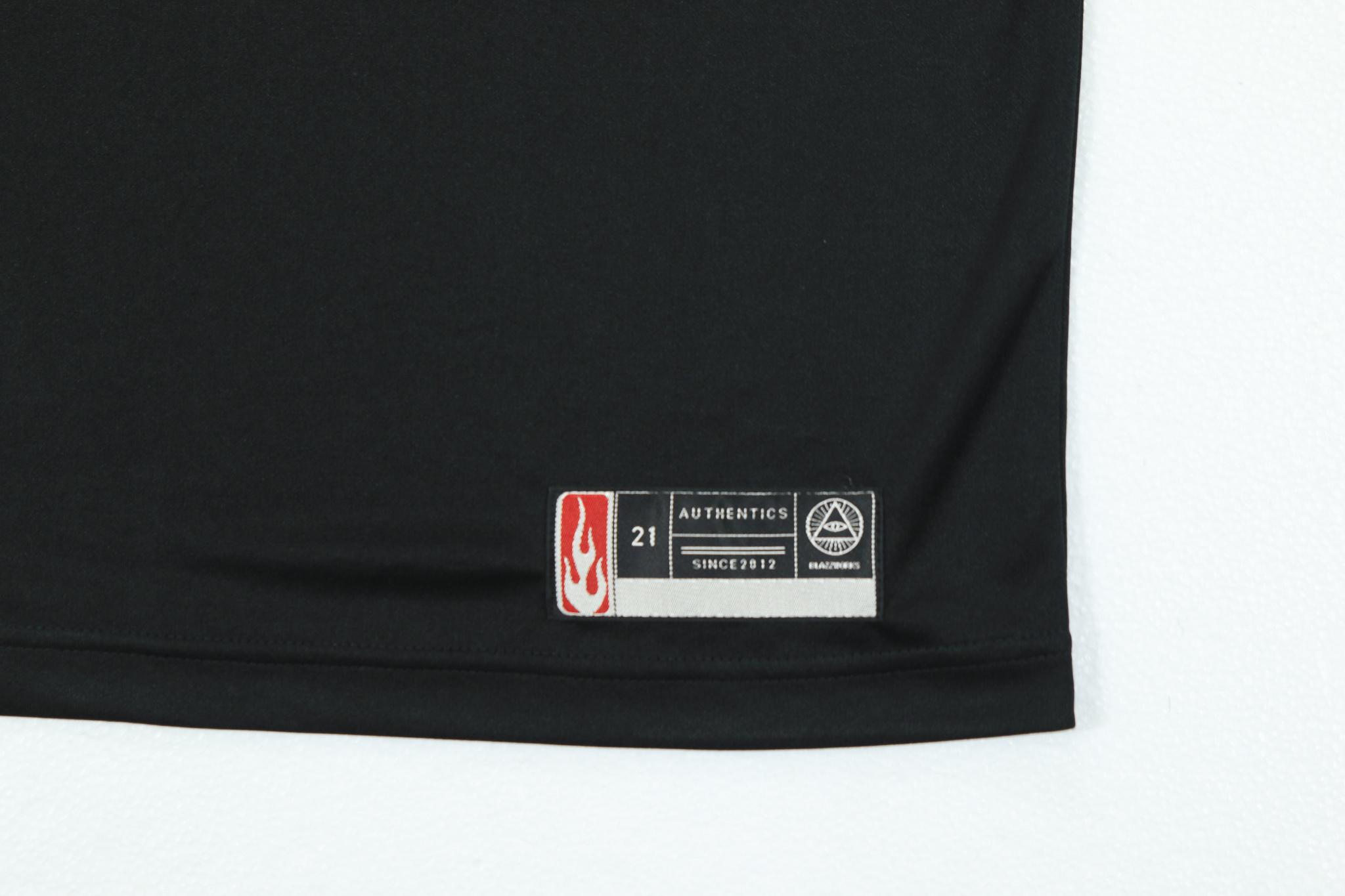 DRY TEE W Patch [BLACK]