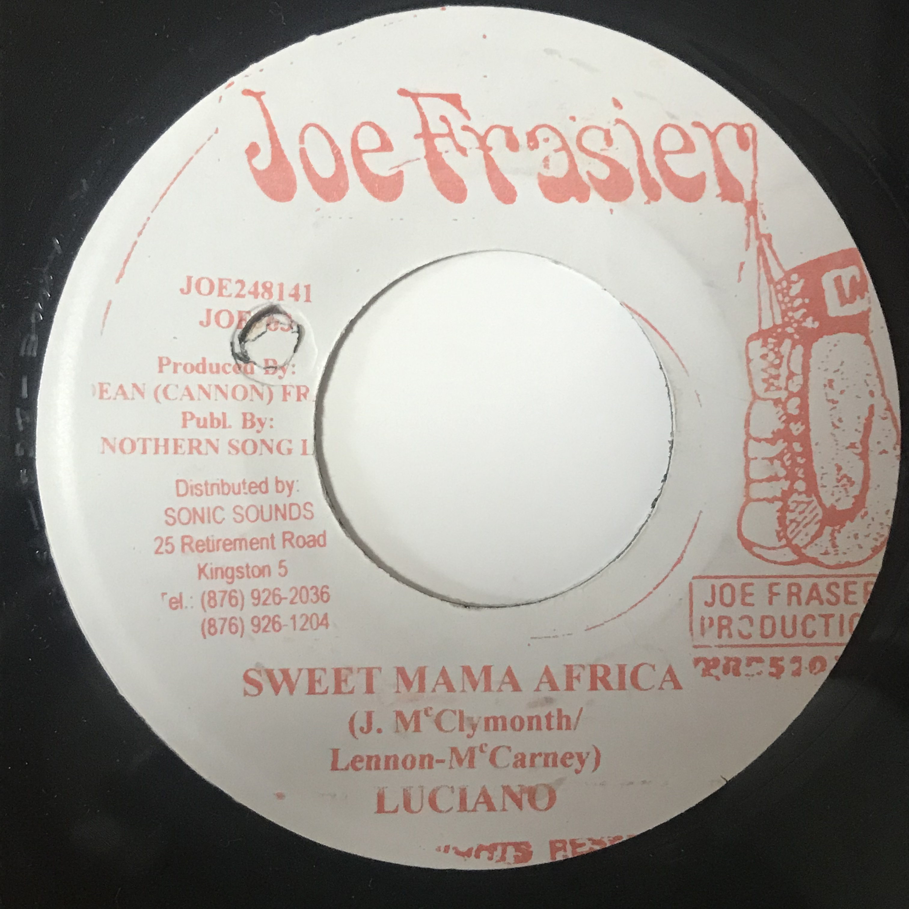 Luciano - Sweet Mama Africa【7-1086】