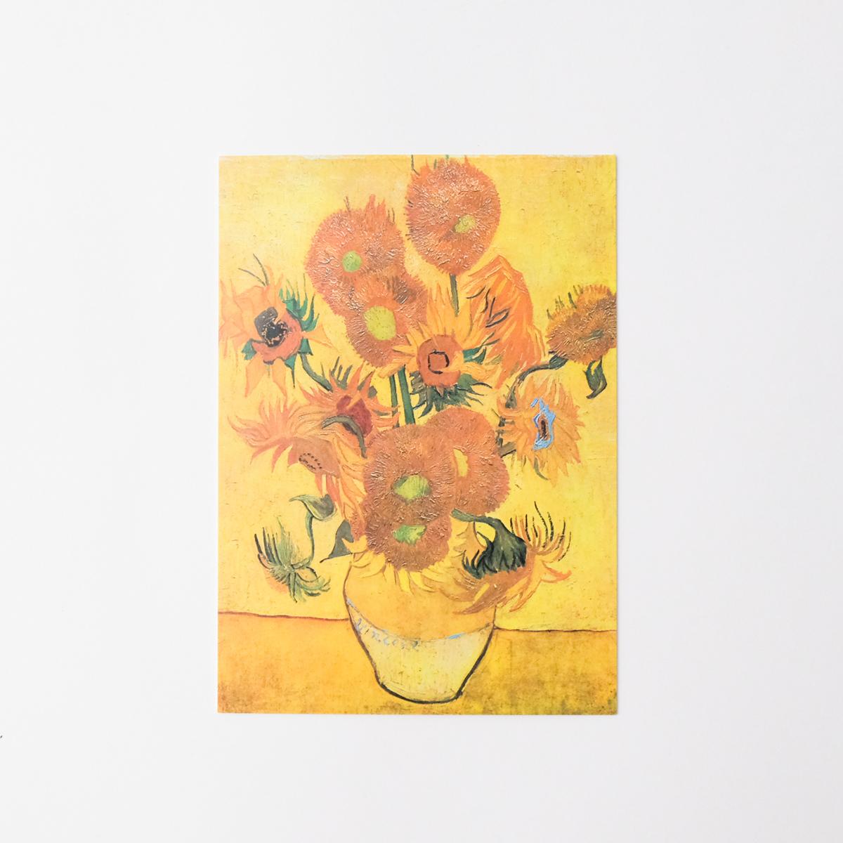 ゴッホ ポストカード ひまわり1889