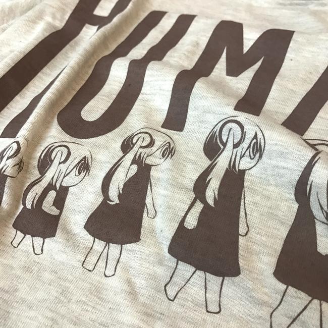 ピノキオピー 人間が着るやつTシャツ(レディース / オートミール) - 画像3
