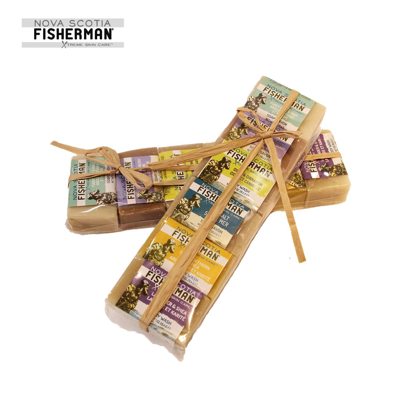 NOVA SCOTIA FISHERMAN  MINI SOAP SET