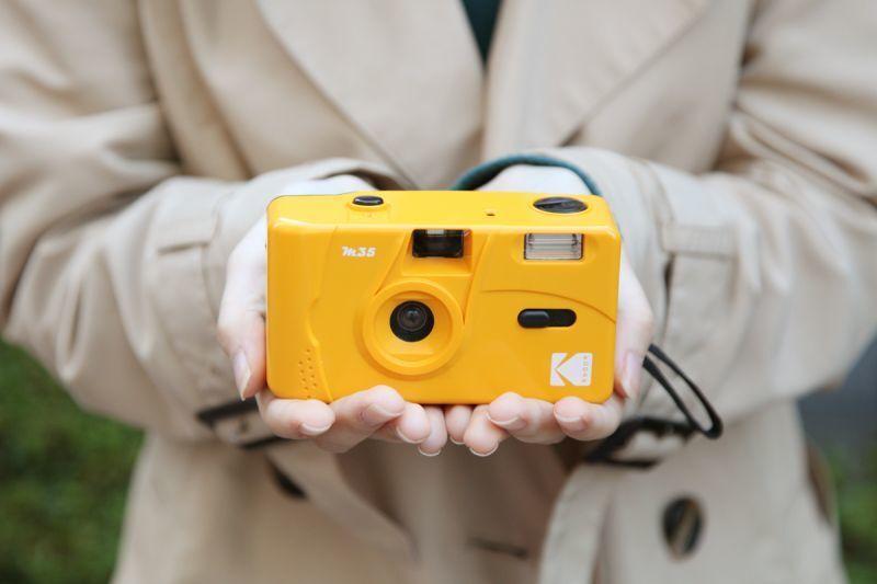 【初心者向け】KODAK M35 コダック レトロフィルムカメラ【イエロー】