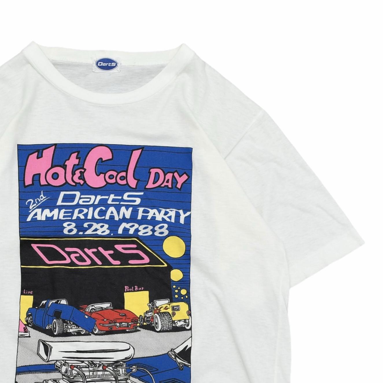 80's vtg Darts AMERICAN PARTY T shirt