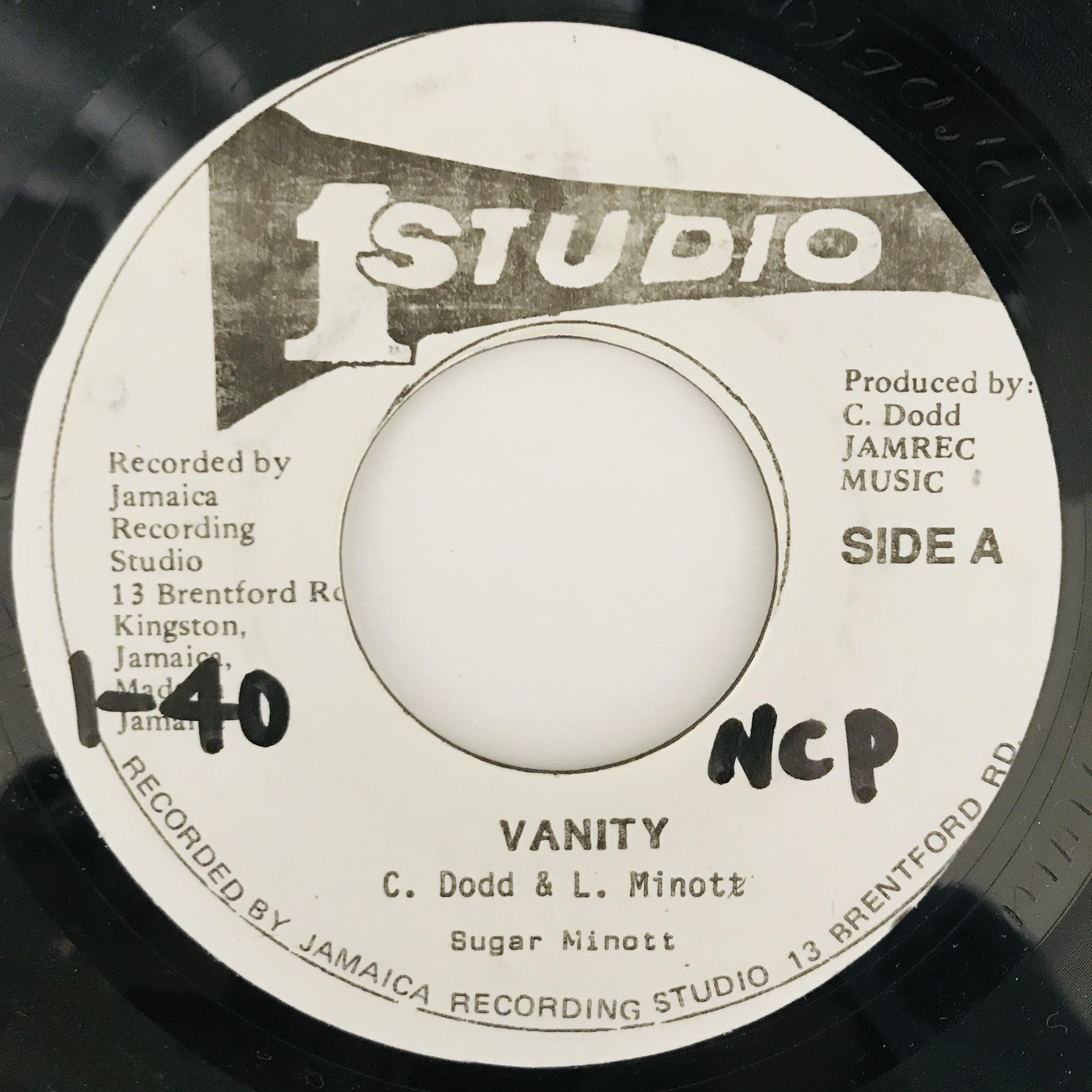 Sugar Minott - Vanity【7-11022】