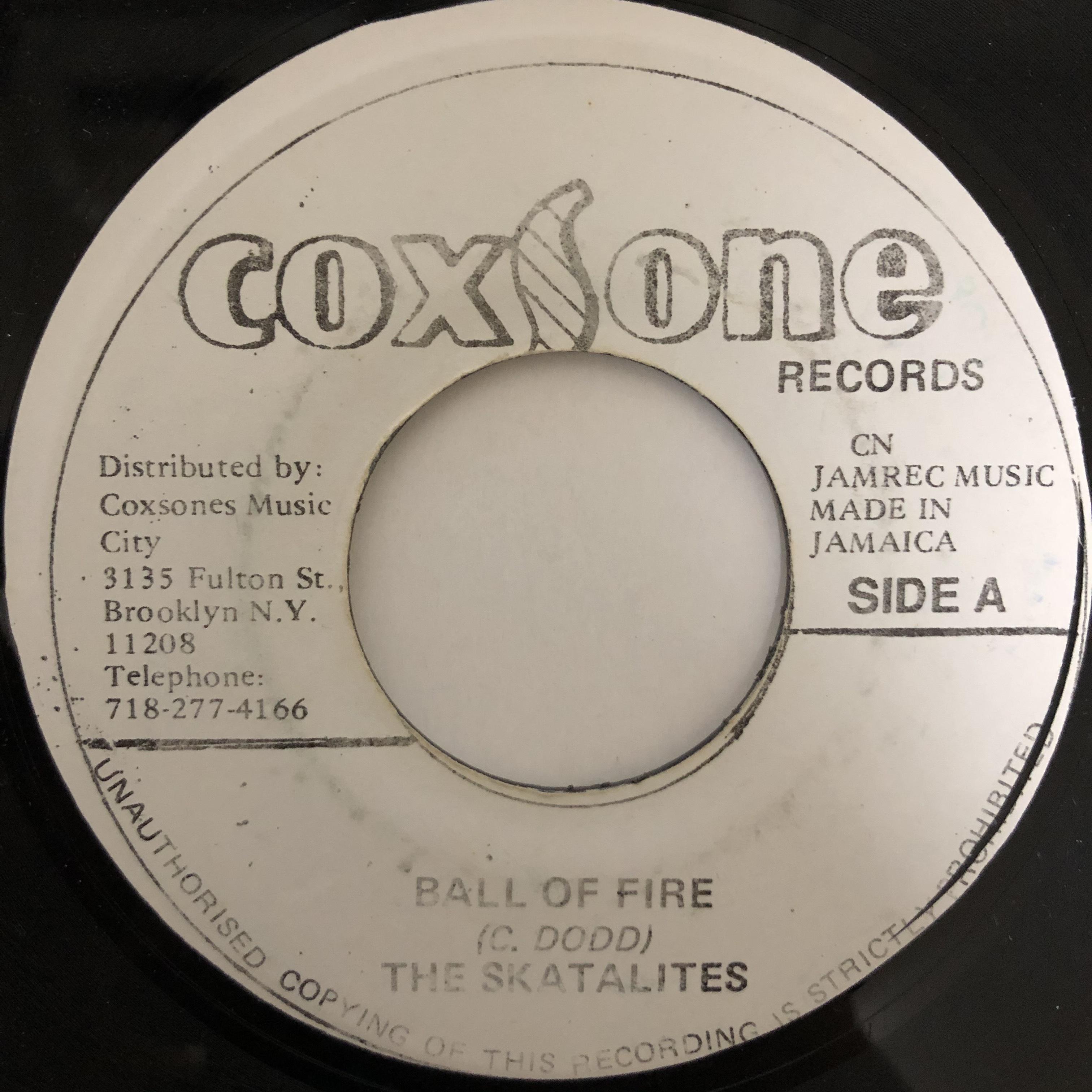 The Skatalites - Ball Of Fire【7-20431】
