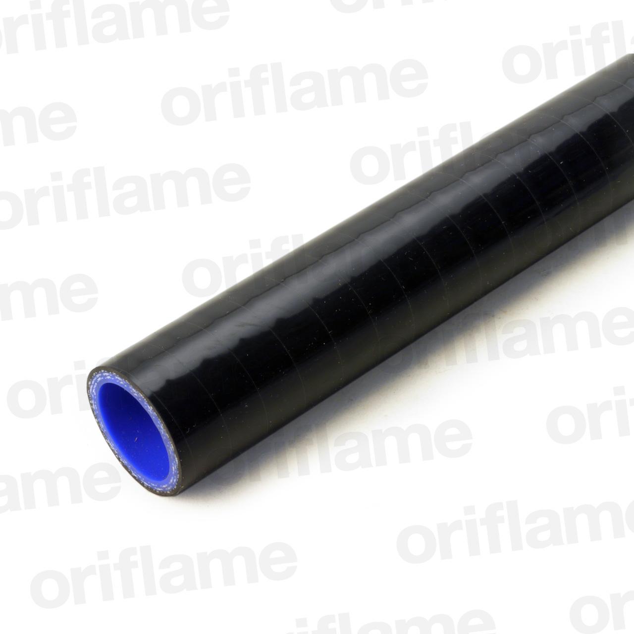 ストレートホース・内径25mm・ブラック