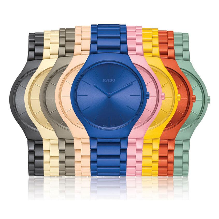 【RADO ラドー】True Thinline Les Couleurs™ Le Corbusier  Full Collection BOX シンライン ル・コルビュジエ フルコレクションボックス/国内正規品 腕時計
