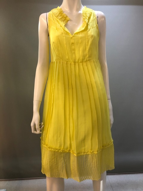 SITA MURT SPAIN 124304 Col.3017(Yellow) シルクドレス