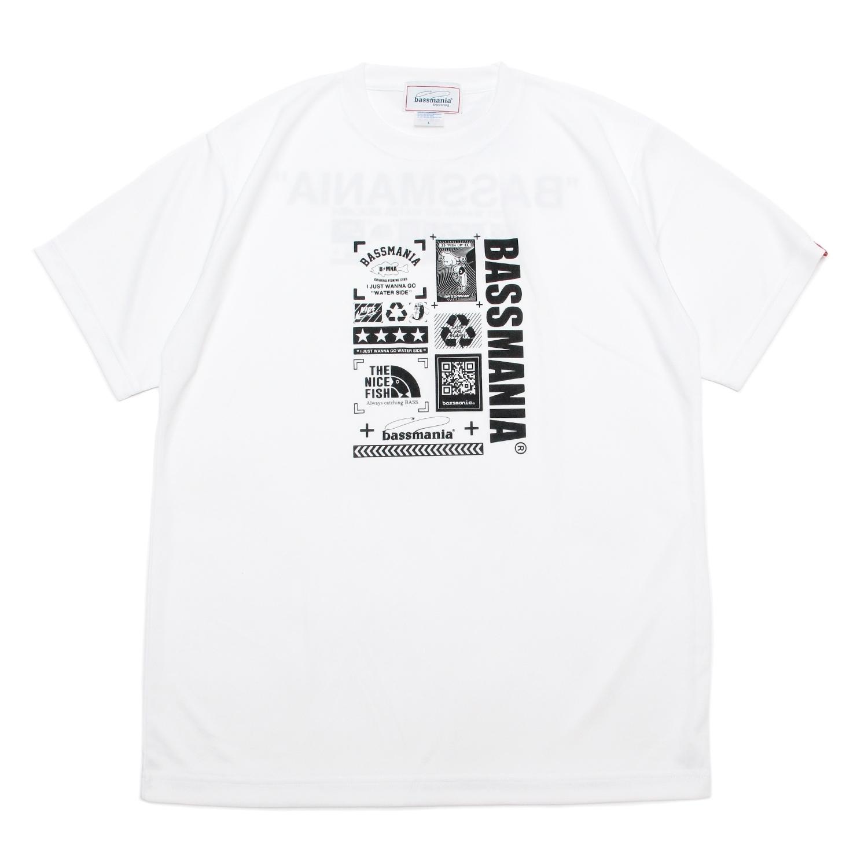 Neo graphic dry  Tシャツ  [WHT]