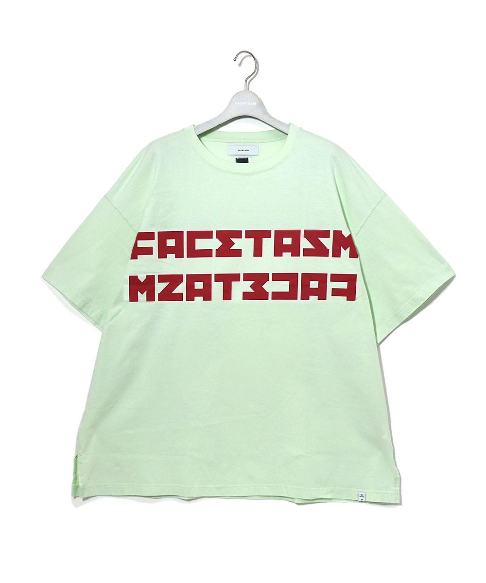 【FACETASM】SOCCOR LOGO BIG TEE
