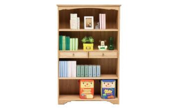 アルダー材のブックシェルフ Bookshelf