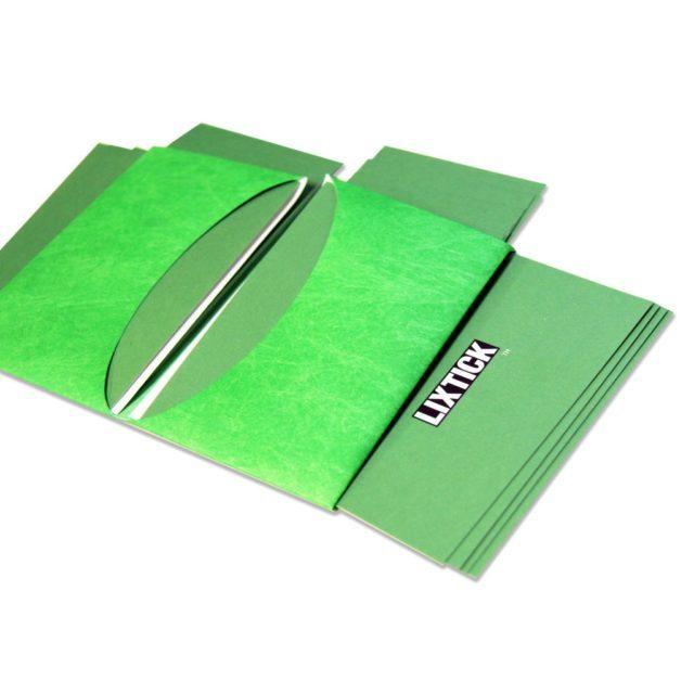 LIXTICK PAPER CASE – NEON GREEN / LIXTICK