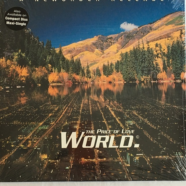 【12inch・米盤】New Order / World (The Price Of Love)