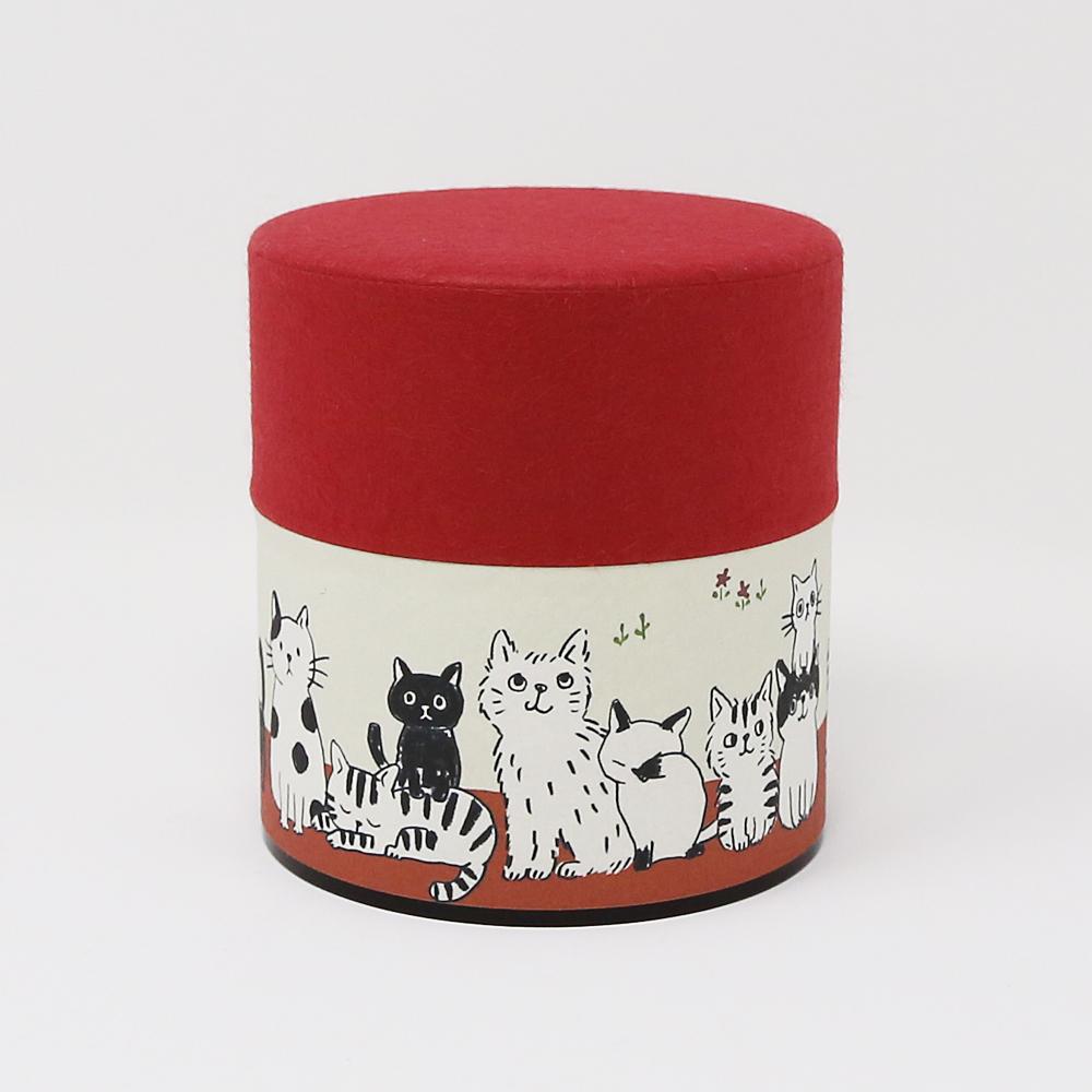 猫お茶缶(のあねこぷち)ねこねこ