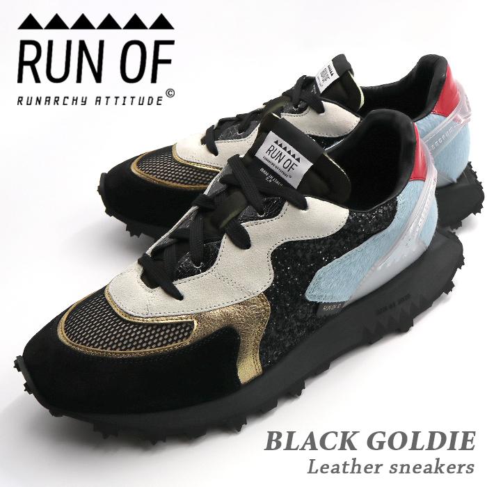 RUN OF/ランオブ BLACK GOLDIE RUN02