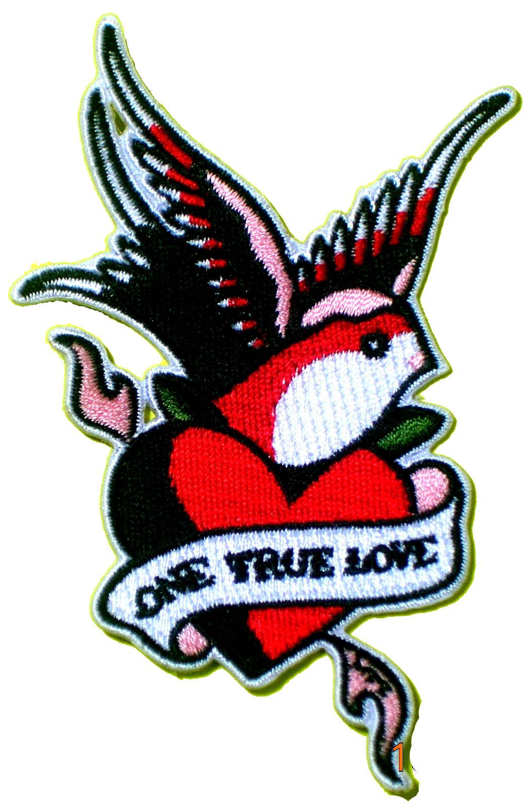 ONE TRUE LOVE【ワッペン・アップリケ・パッチ】  FD0509