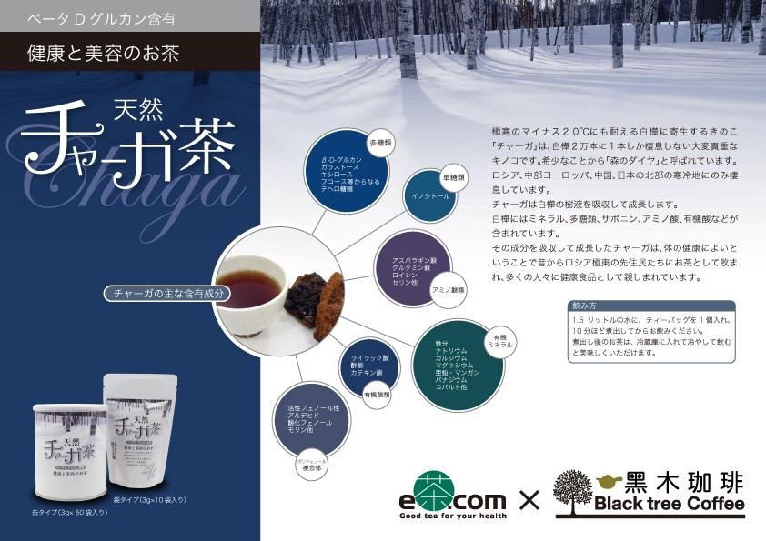 健康と美容のお茶 天然チャーガ茶(40個入り)