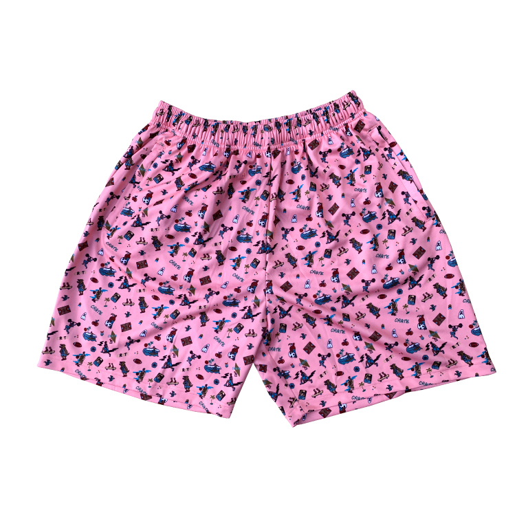CRATE×Toyameg Vol.2 Mesh Pants PINK