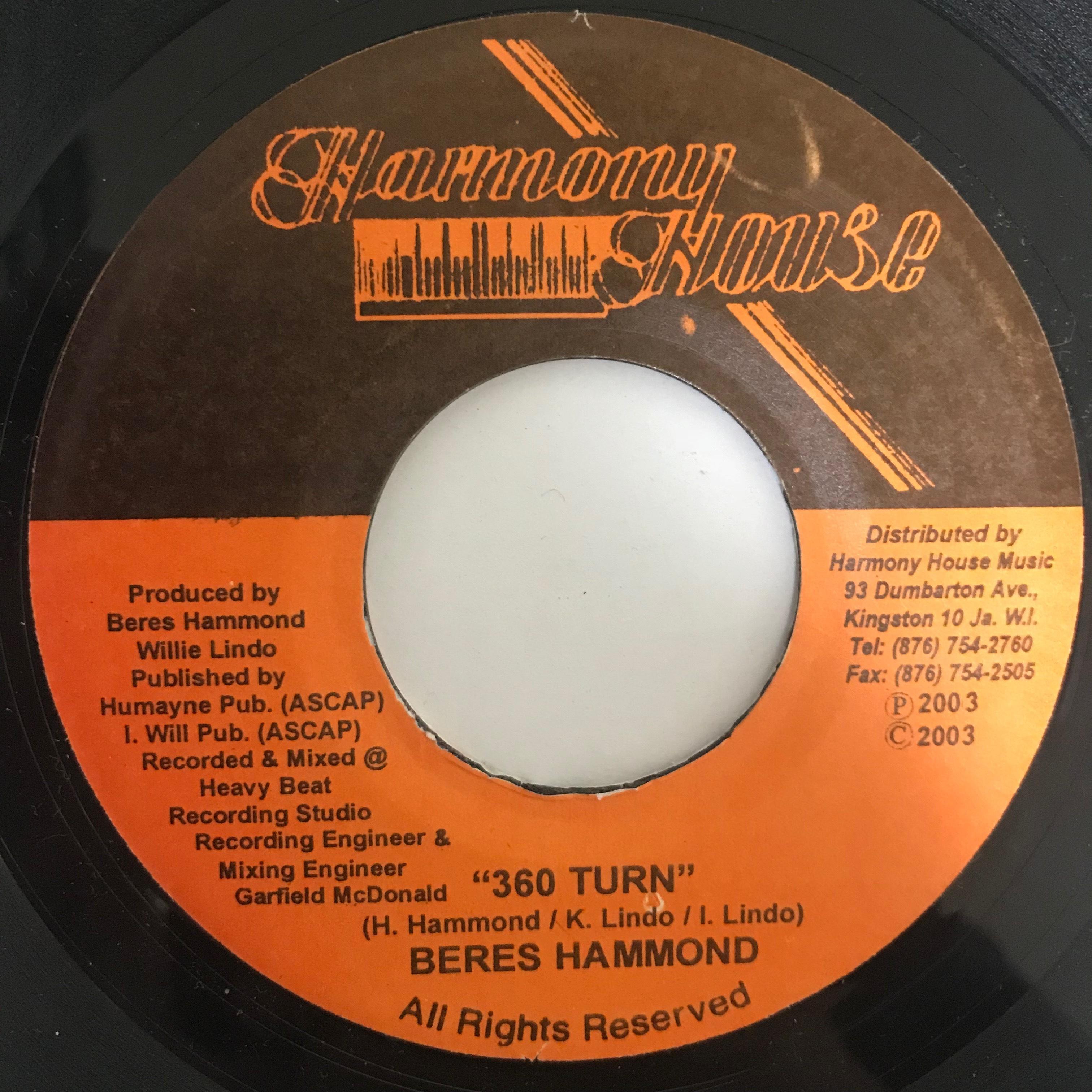 Beres Hammond - 360 Turn【7-10776】