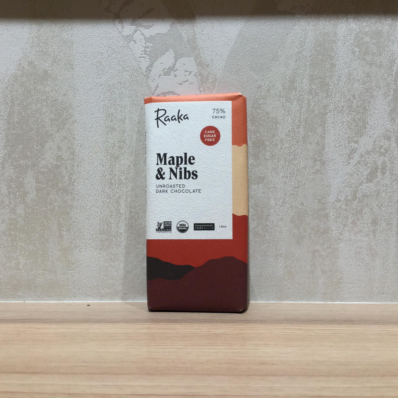 【Raaka/ラーカ】 75%メイプル&ニブ