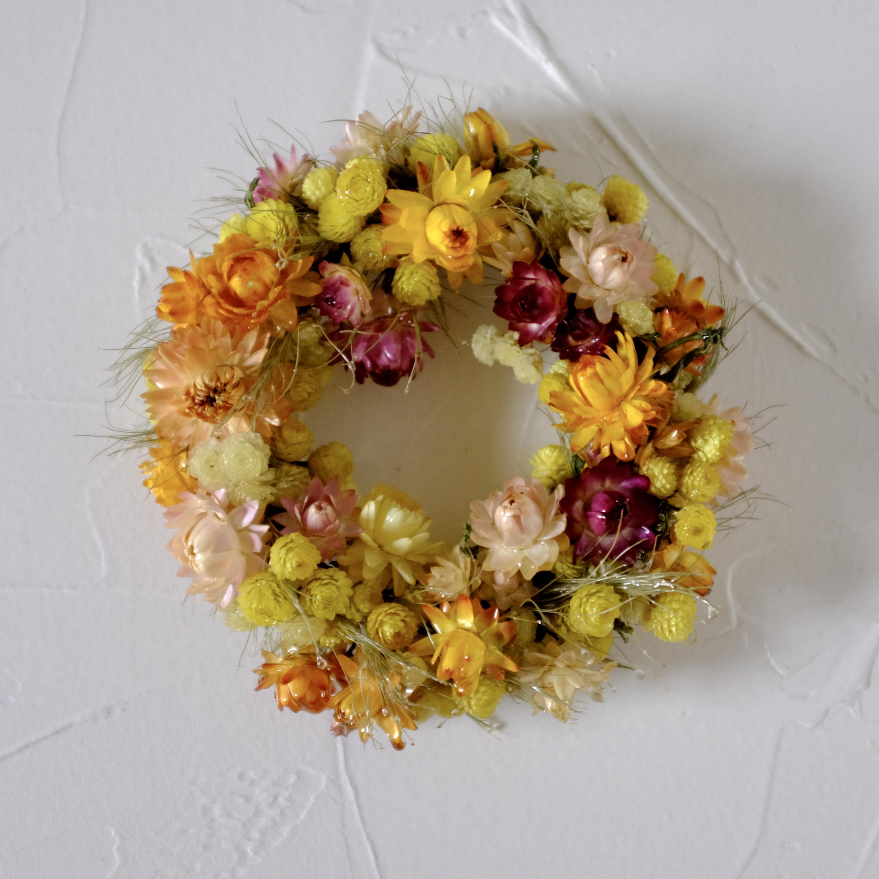 tsuyabana wreath リース 5