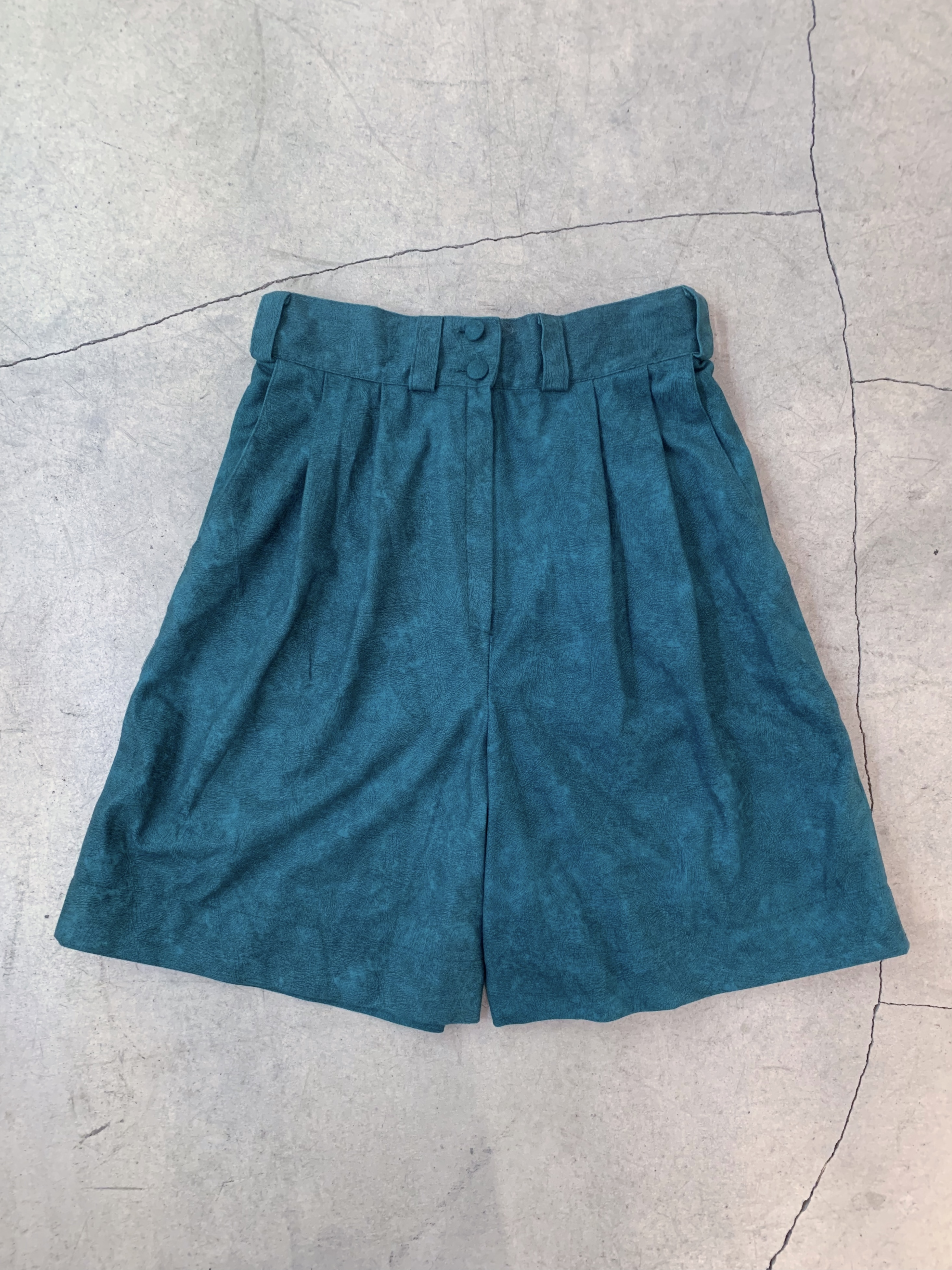 vintage suede half pants
