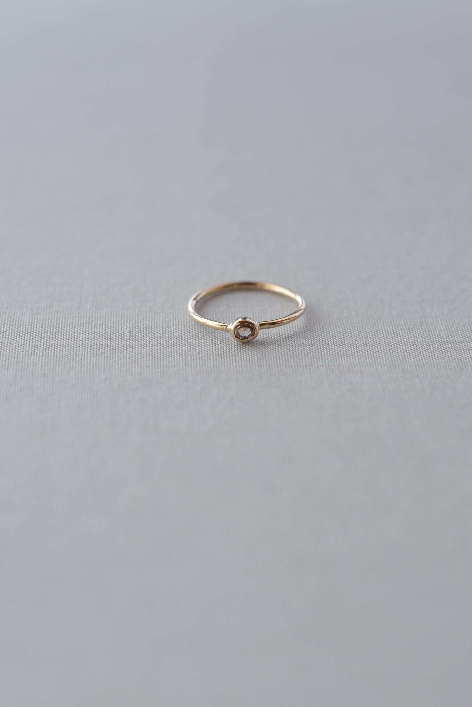 accesories mau R-51-1 ブラウンダイヤ ring