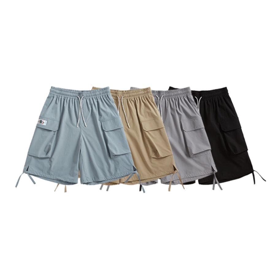 【UNISEX】アウトドア トラックスーツ ショーツ ショートパンツ【4colors】UN-A0187