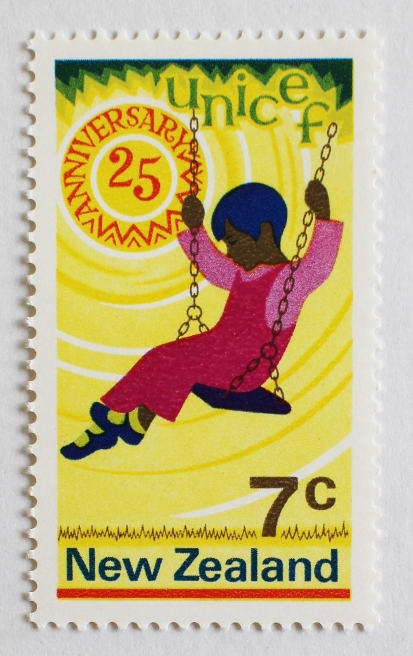 ユニセフ / ニュージーランド 1971
