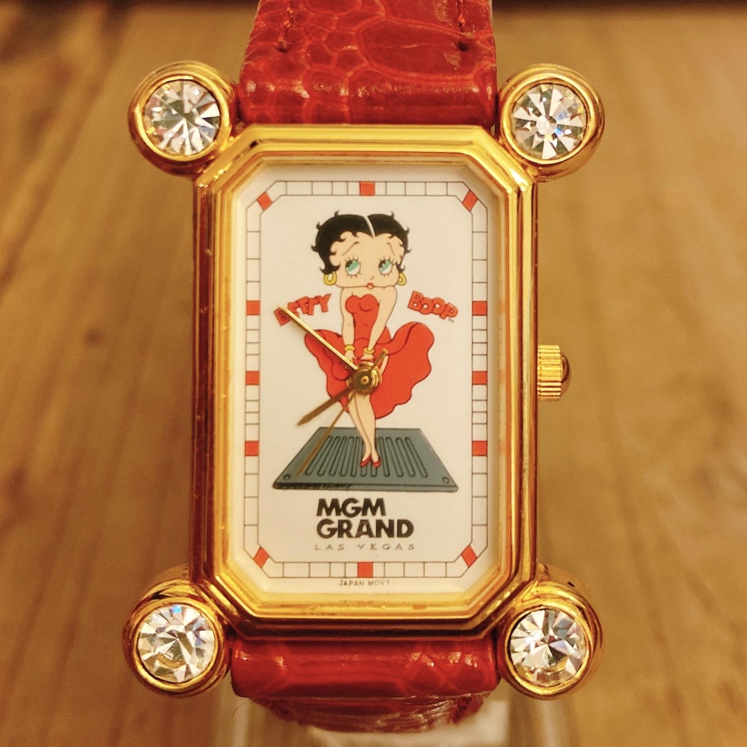 PEDRE社製 Betty Boop 90`s MGM GRAND ウォッチ