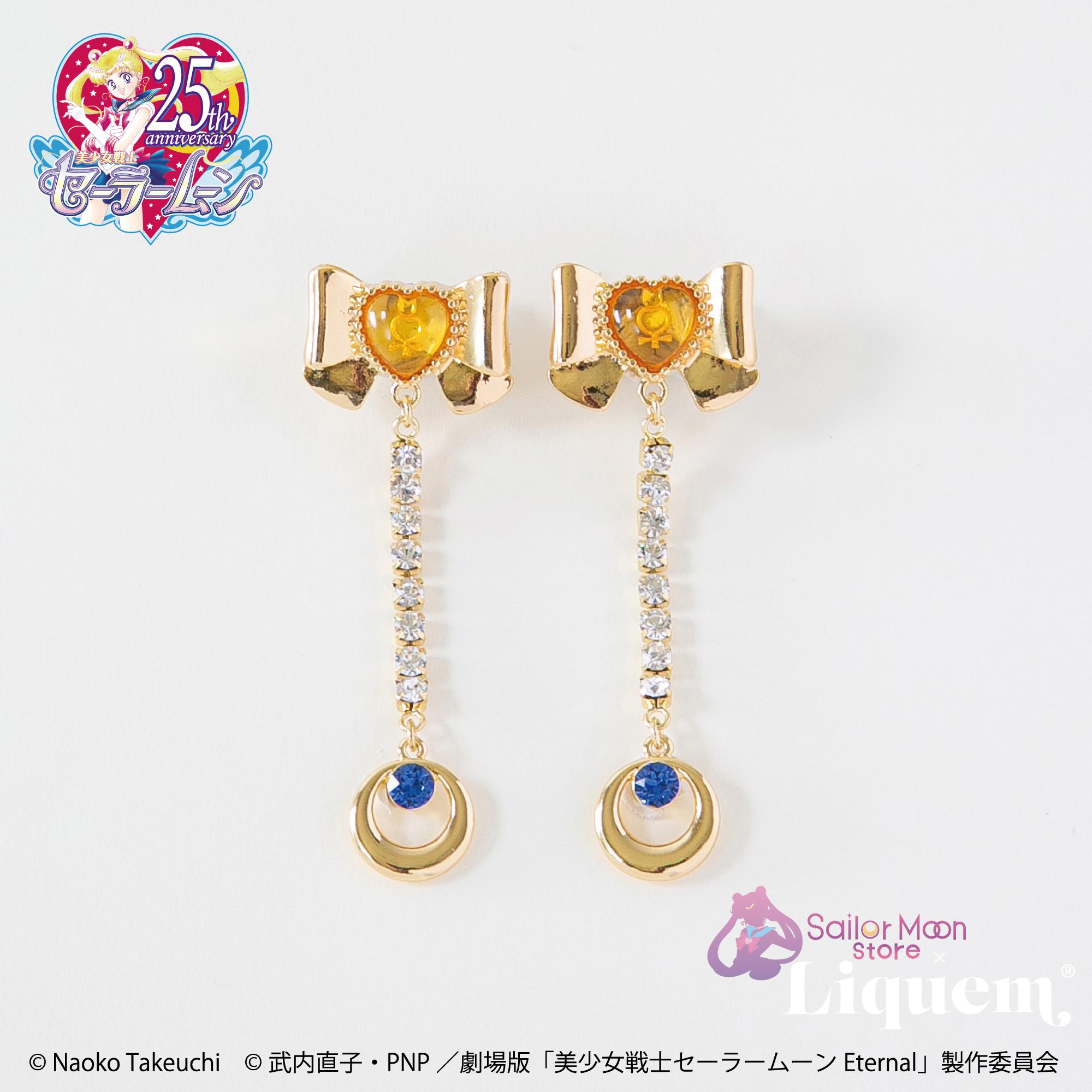 Sailor Moon store x Liquem / スーパーセーラーヴィーナスリボン・ピアス