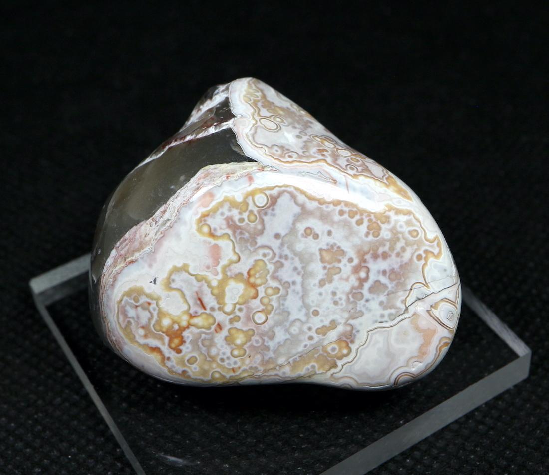 メキシコ クレイジーレース アゲート 41,8g AG094  鉱物 原石 天然石 パワーストーン