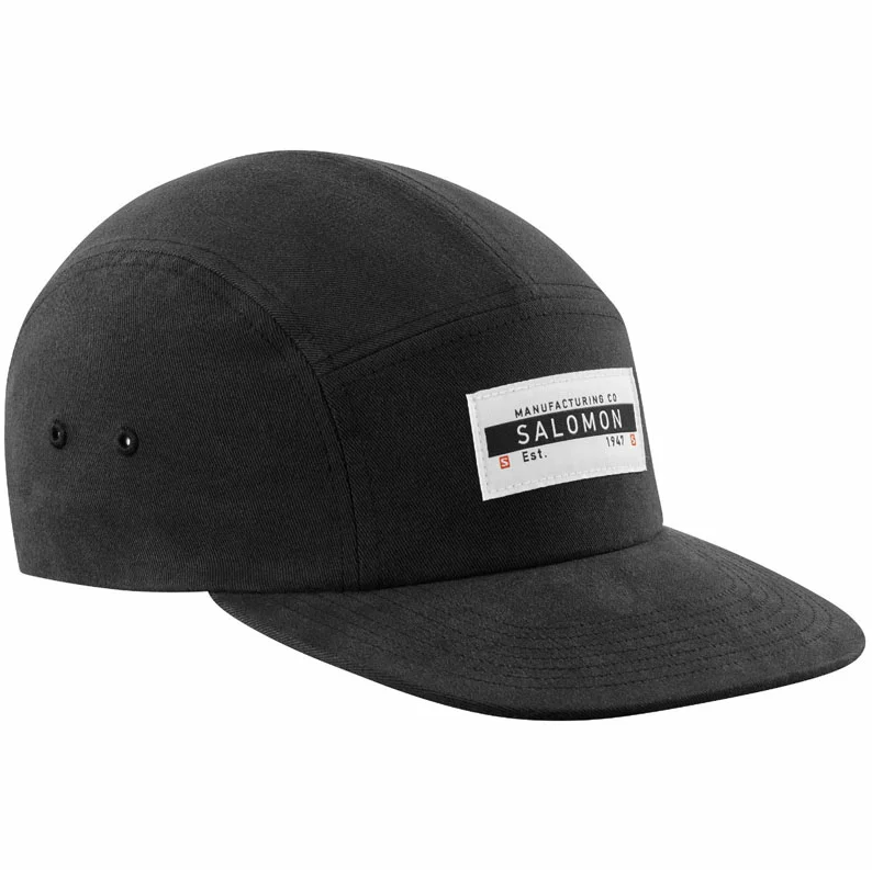Salomon サロモン HEADWEAR FIVE P CAP Black/Black ファイブPキャップ ブラック ヘッドウェア LC1464100【キャップ】【帽子】