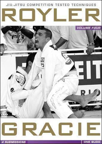 ホイラー・グレイシー OMPETITION TESTED TECHNIQUES DVD 4: SUBMISSIONS ブラジリアン柔術教則DVD